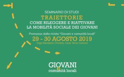 La II edizione del seminario GCL verterà su giovani e mobilità sociale.