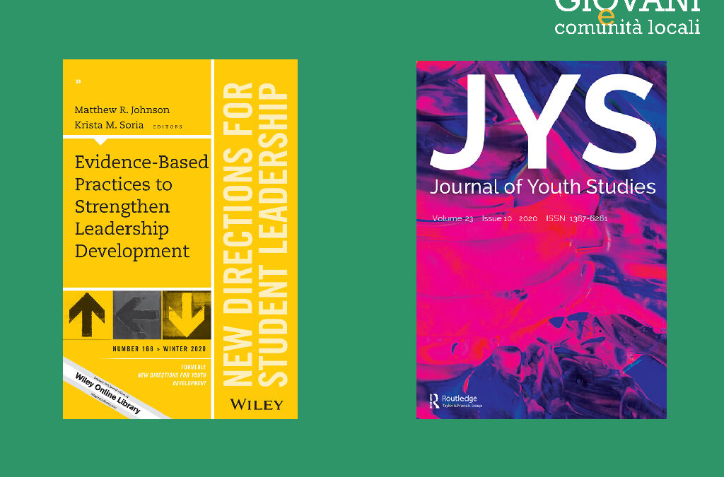 LA RIVISTA | New directions for youth development e Journal of youth studies