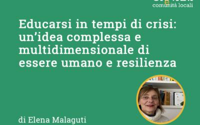 SEMINARIO 2020 // Educarsi in tempi di crisi di Elena Malaguti